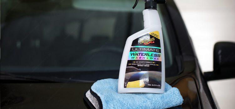 Wasserlose Fahrzeugwäsche – was ist an dem Waterless Wash dran?