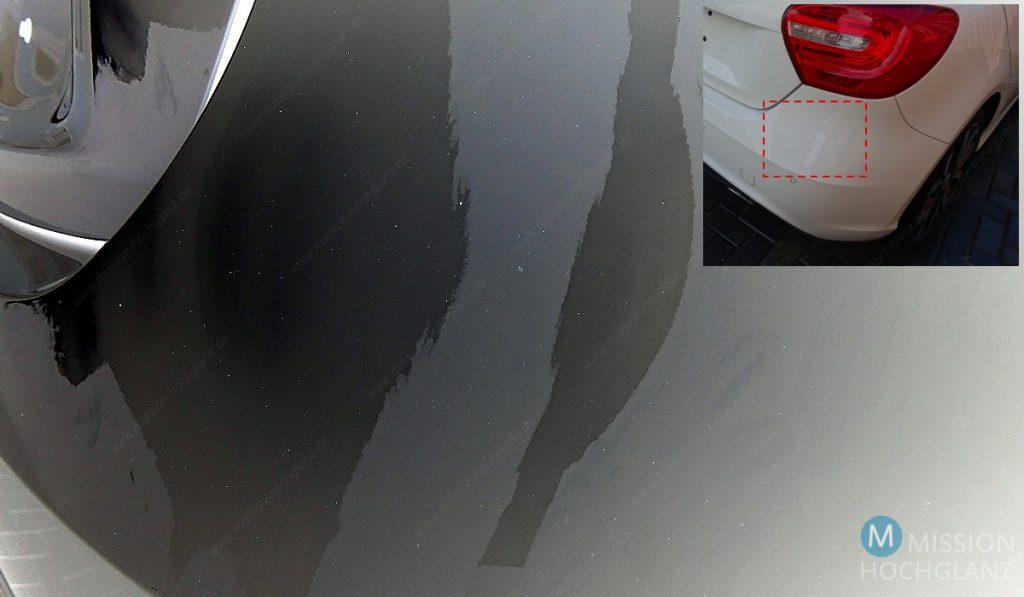 Visualsierung der größeren Flugrostpartikel