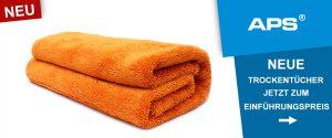 Neue Trockentücher von APS: Sahara, Sahara XL und Gobi XL