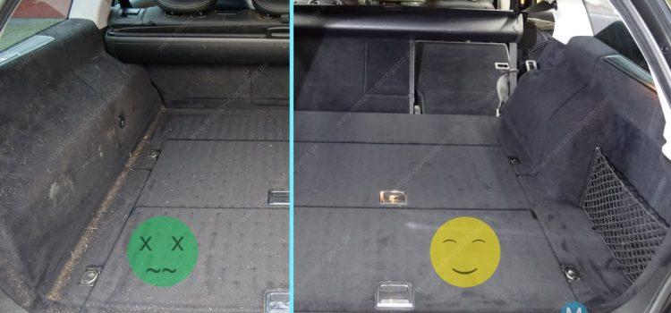 Kofferraum reinigen – einfache und schnelle Schmutzbeseitigung